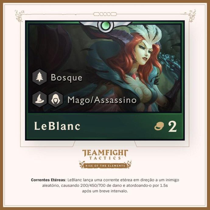 Cập nhật ĐTCL: Leblanc xuất hiện, thay đổi lớn về hệ Sát thủ