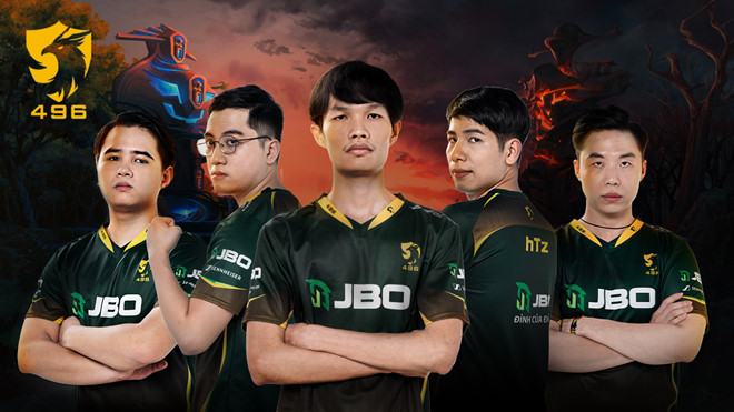 496 Gaming - Hy vọng vàng của Thể thao Điện tử Việt Nam