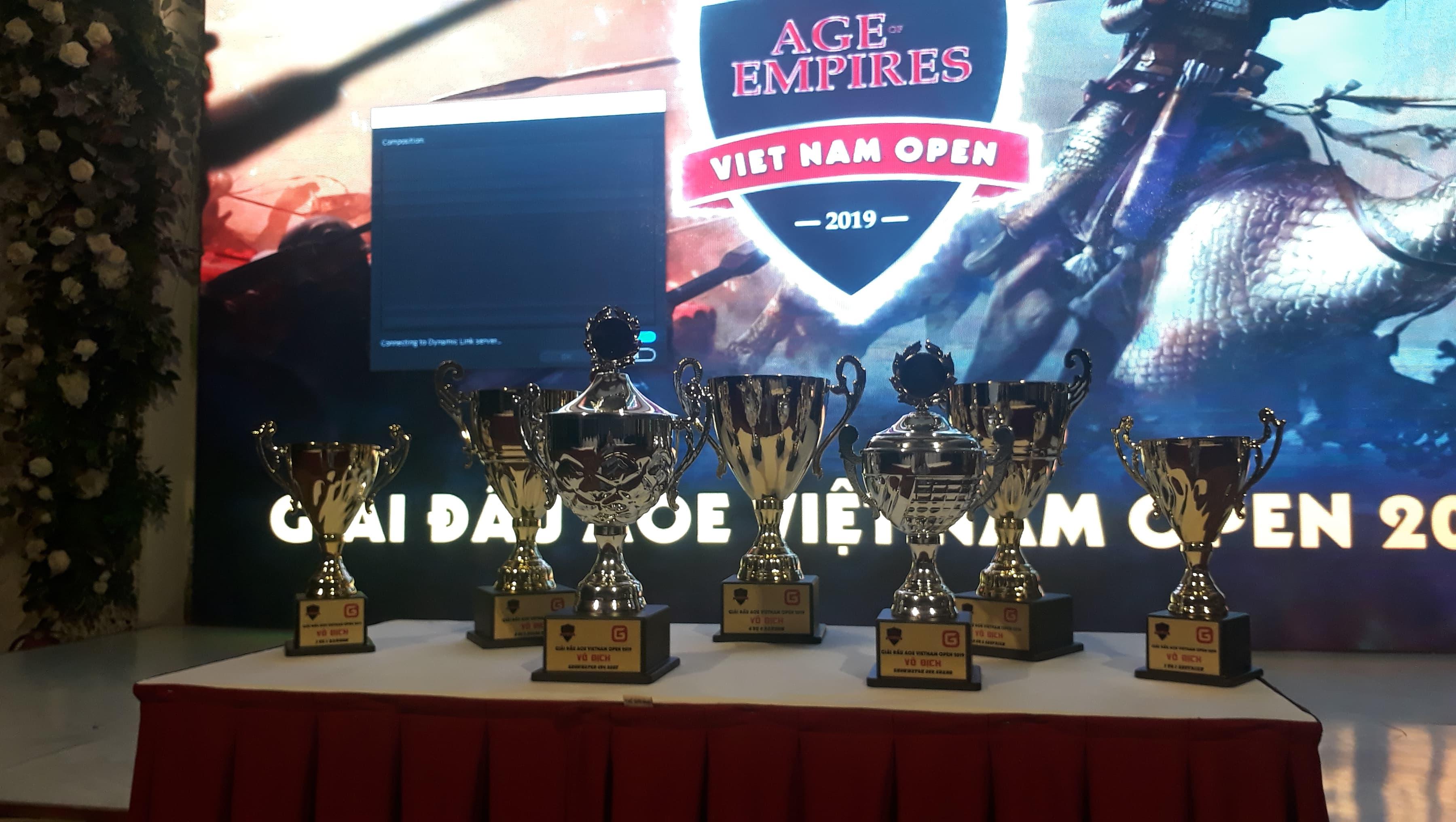 Tường thuật trực tiếp giải đấu AoE Việt Nam Open 2019 ngày thi đấu 10/11