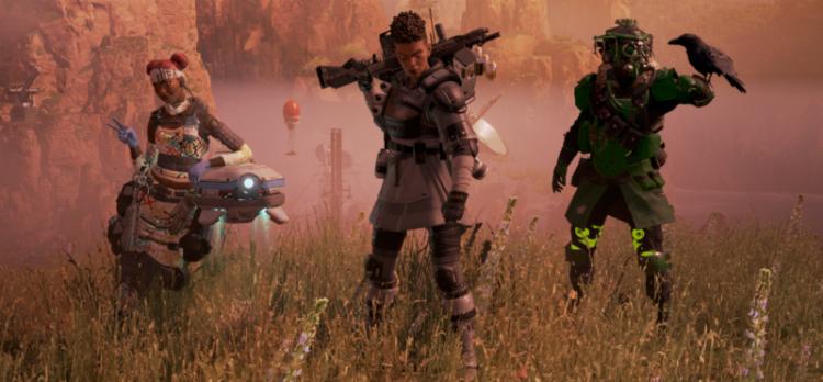 đội hình trong Apex Legends