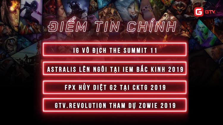 Bản tin GTV eSports: Tham vọng dang dở của Dota Trung Quốc