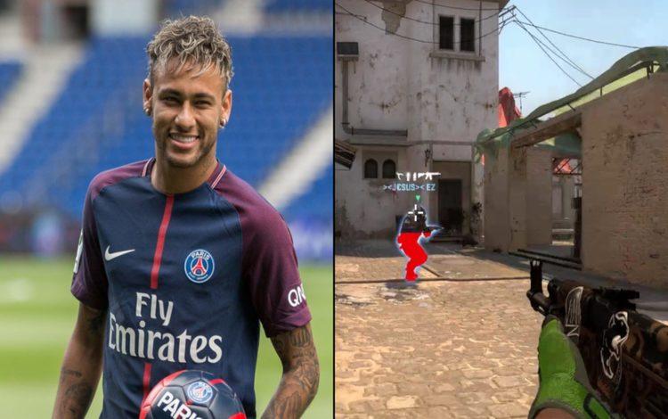 Neymar thể hiện kỹ năng Counter-Strike xuất sắc với pha Clutch 1vs3