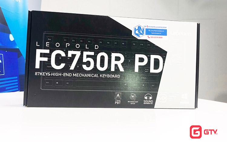 Góc Review: Bàn phím cơ LEOPOLD FC750R PD