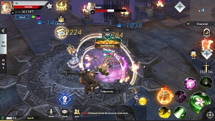 GTV lần đầu thử sức với tựa game bối cảnh Châu Âu mang tên Thiên Sứ Mobile