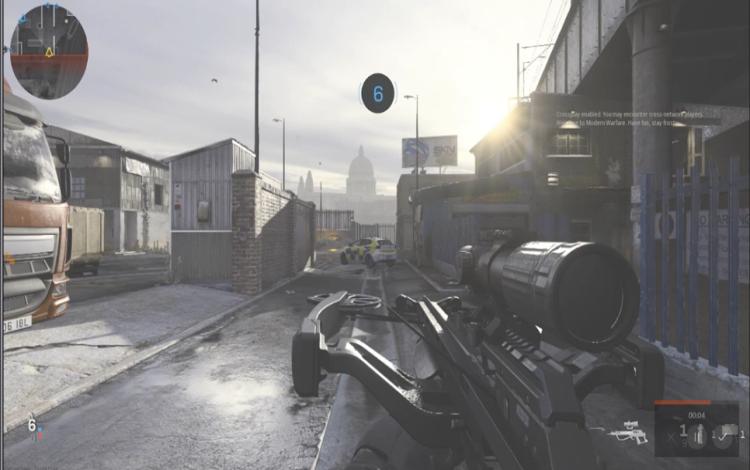 The Crossbow trên Hackney Yard trong chế độ nhiều người chơi