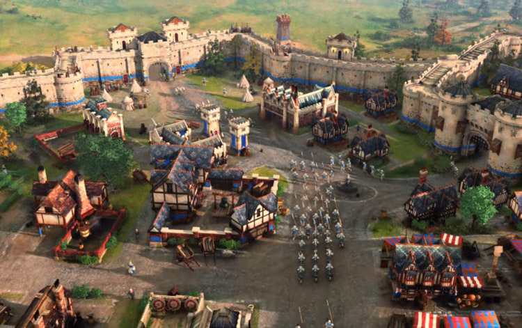 Age of Empires 4: Bổ sung những nền văn minh trung cổ