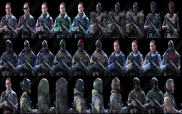 cái nhìn về một số giao diện nhân vật mới sôi động có thể được thêm vào trong tương lai gần.