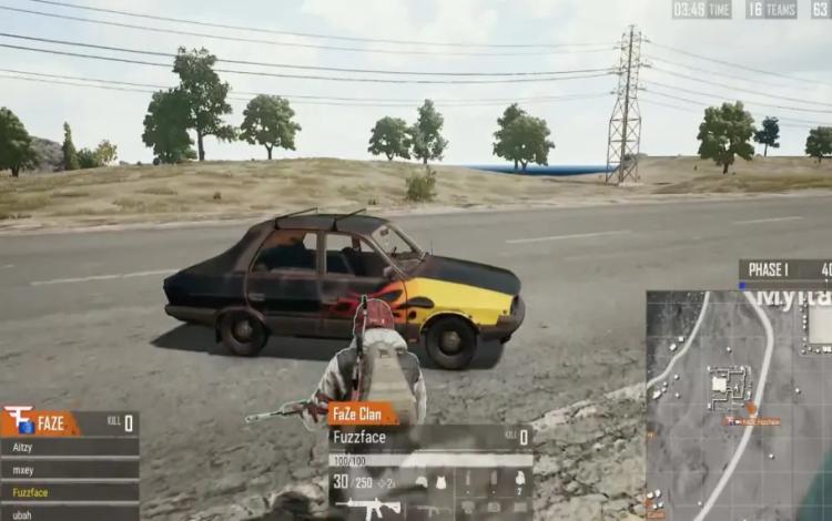 Tiếp tục xuất hiện ''bug ô tô'' trong giải vô địch PUBG thế giới