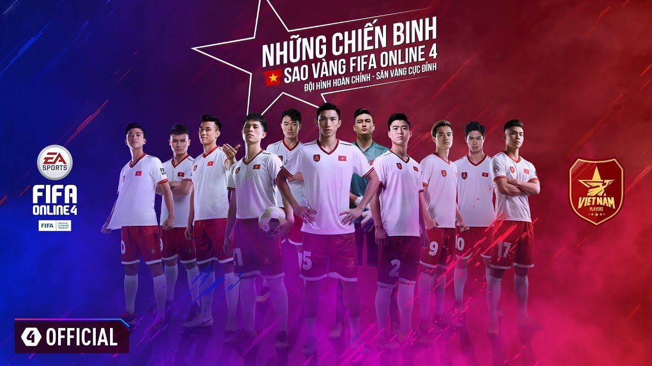 Đội hình tuyển Việt Nam chính thức được cập nhật đầy đủ trong FIFA Online 4