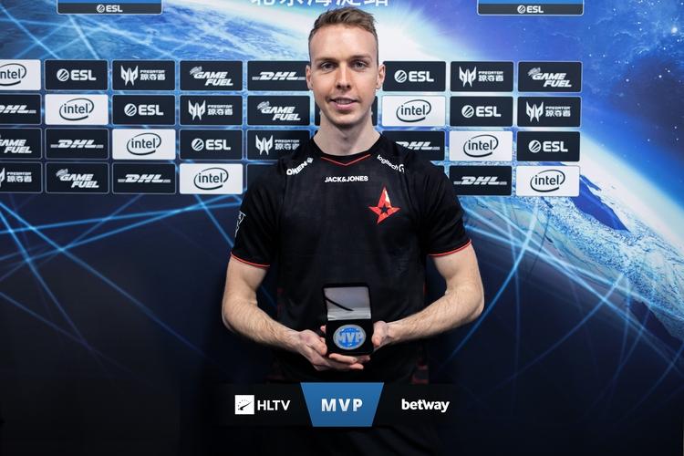 Gla1ve nhận danh hiệu MVP đầu tiên trong sự nghiệp tại IEM Bắc Kinh