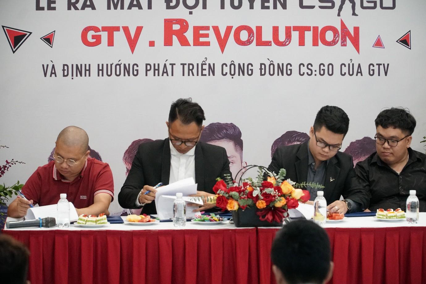 Họp báo ra mắt Đội tuyển CS:GO GTV.Revolution