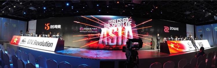 GTV.Revolution sẽ chạm trán ViCi Gaming trong trận ra quân Zowie Extremesland Asia 2019
