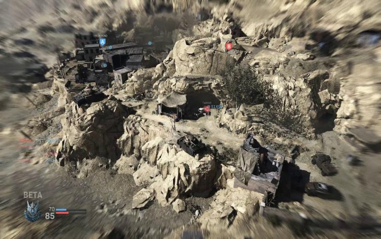 Một số người chơi được tổ chức bên trong các hang động của Azhir Cave có thể không mong đợi được gặp một tên lửa Cruise.