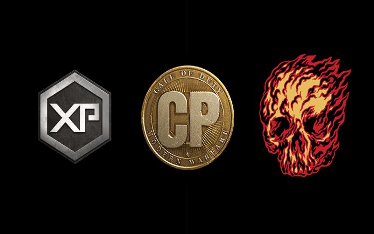 Người chơi sẽ có thể kiếm được XP Tokens, CoD Points và nhãn dán thông qua Battle Pass