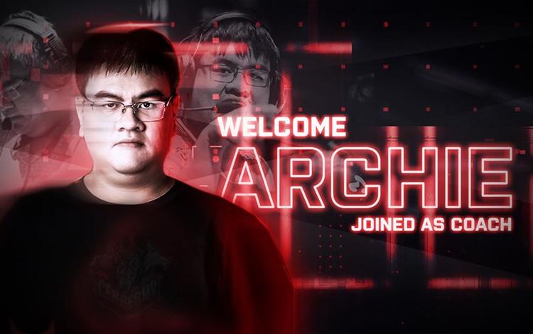 Archie trở lại VCS với cương vị là HLV của Cerberus Esports