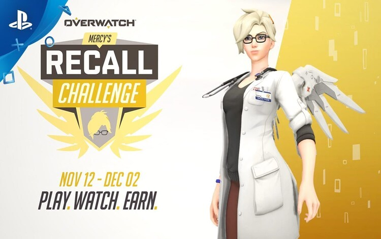 Overwatch ra mắt sự kiện Mercy's Recall Challenge