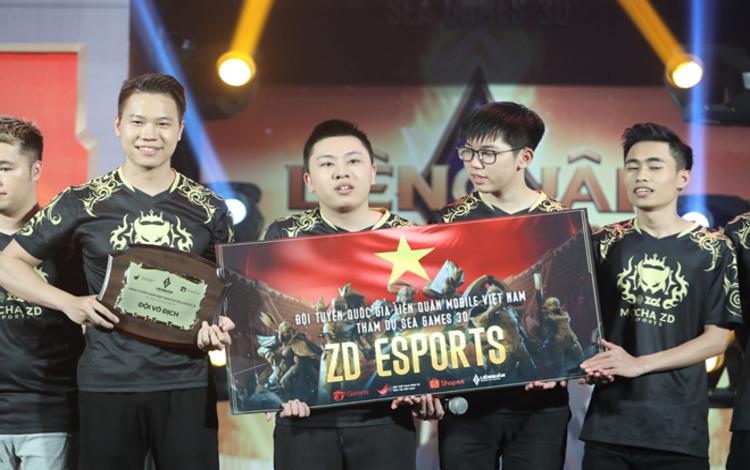 Đại diện LQM Việt Nam tranh tài tại SEA Games 30 Mocha ZD Esports: Họ là ai?