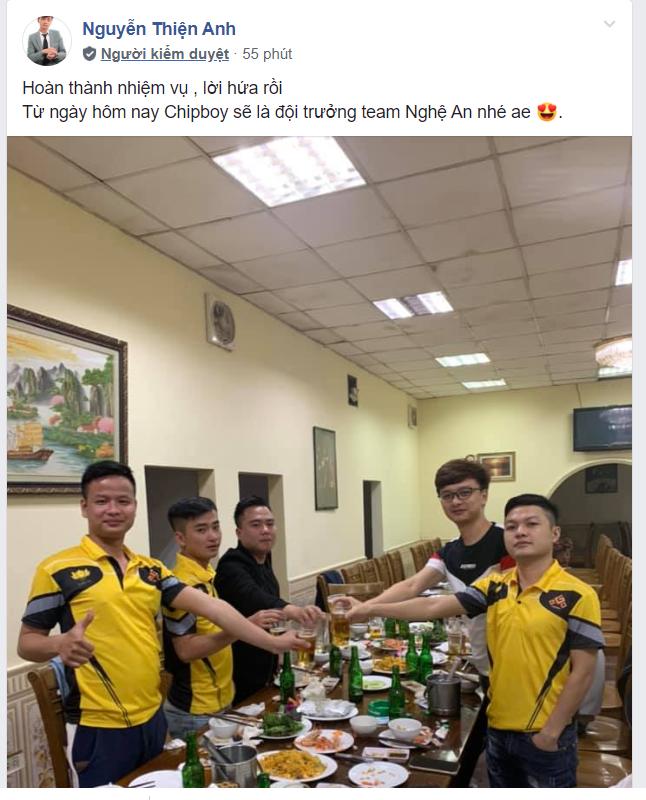 No1 nói lời chia tay với chiếc ghế đội trưởng sau những thành công của AoE Nghệ An tại giải đấu AoE Việt Nam Open 2019