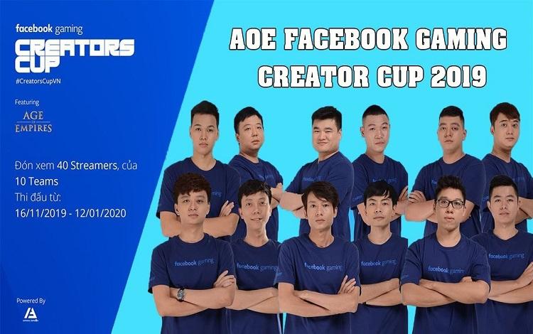 Top 5 điều thú vị về giải đấu AoE Facebook Gaming Creators Cup 2019