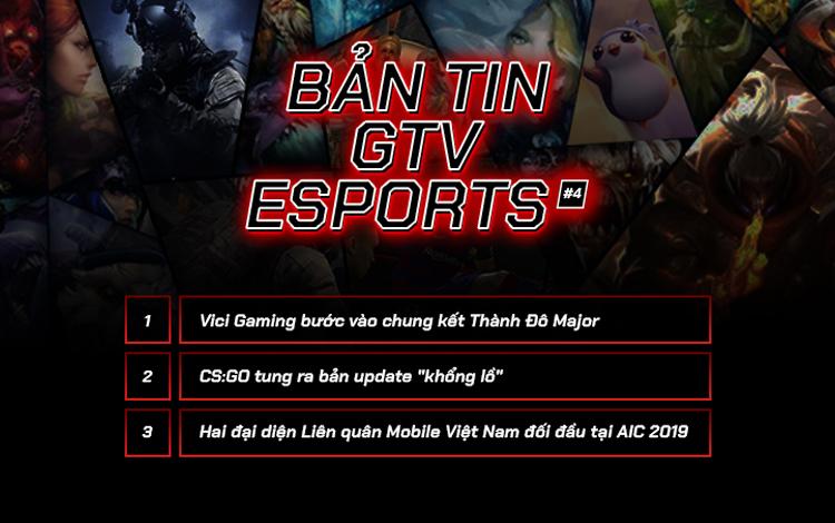 """Bản tin GTV eSports 4: Định nghĩa về """"huyền thoại"""" eSports"""