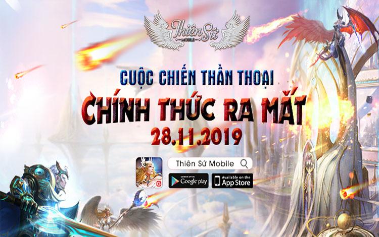 Thiên Sứ Mobile chính thức đến tay game thủ Việt ngày 28/11 tới đây