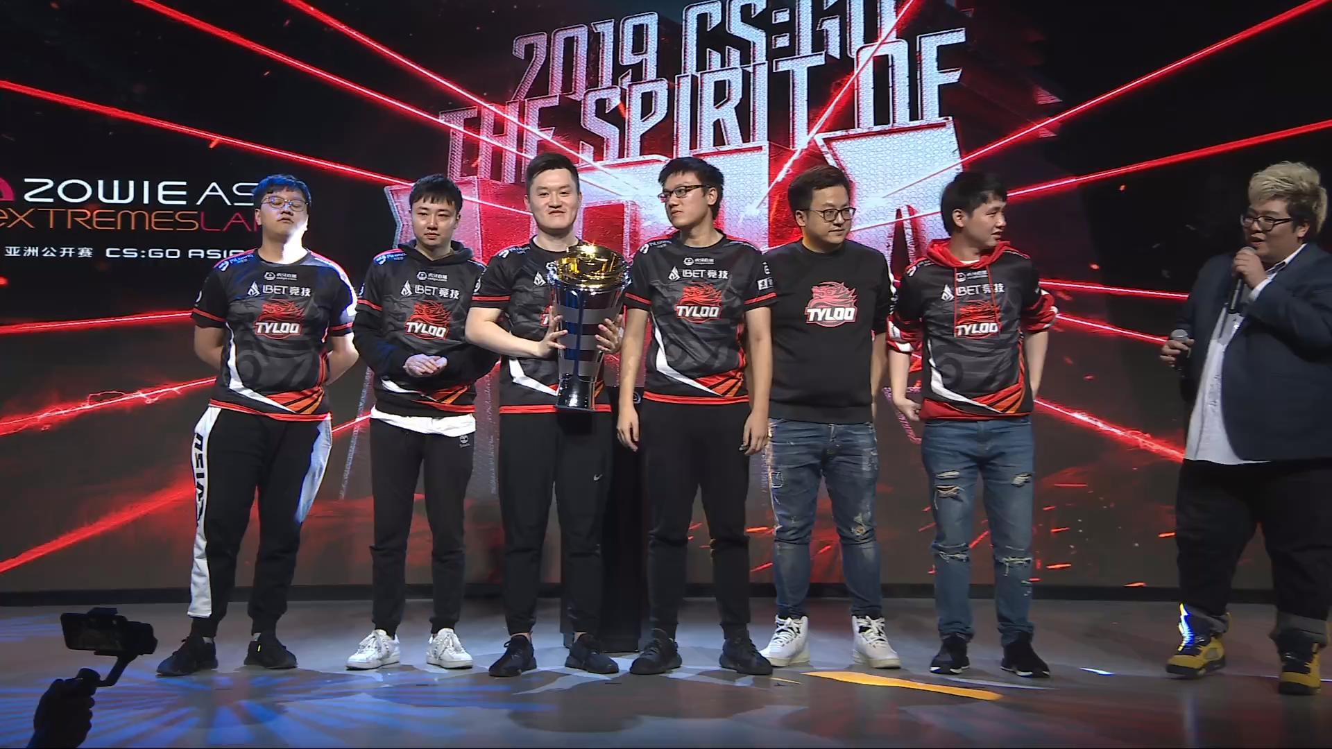 Tyloo đánh bại ViCi để trở thành nhà Vô địch Zowie eXTREMESLAND Asia