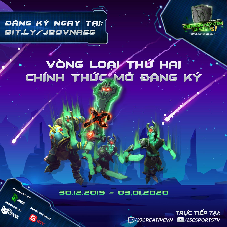 2nd qualifier - Cơ hội thứ 2 tham dự Vietnam Master League Season 1 chính thức mở cửa