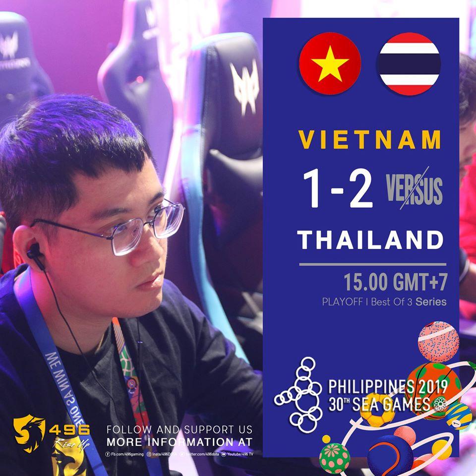 496 1 2 thai - Vòng sơ loại LA Major khu vực SEA: Việt Nam tiếp tục nuôi giấc mơ Major