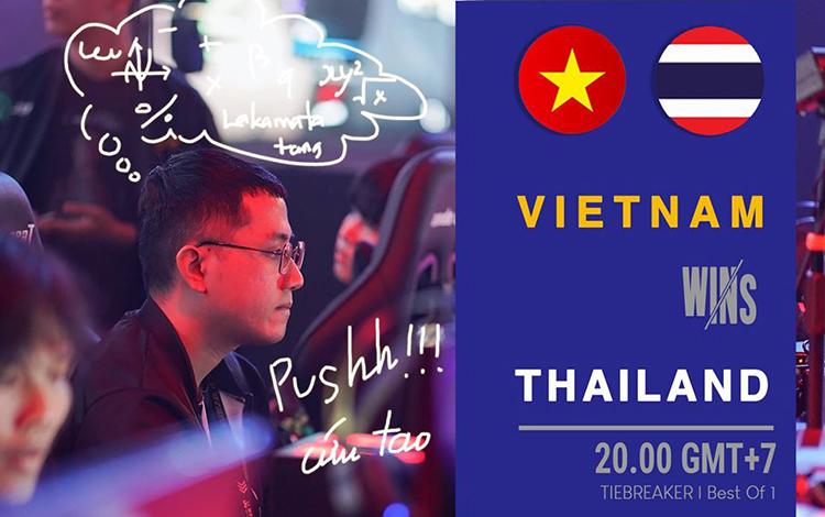 Hạ gục người Thái, 496 Gaming đem về tấm huy chương thứ 2 giành cho eSports Việt Nam