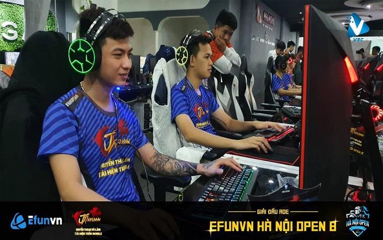 Tổng kết ngày thi đấu thứ nhất giải đấu EFVN Hà Nội Open 8