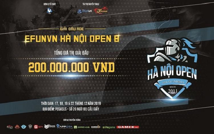 Bản tin AoE ngày 04/12: Hà Nội Open 8 hé lộ ngày khởi tranh