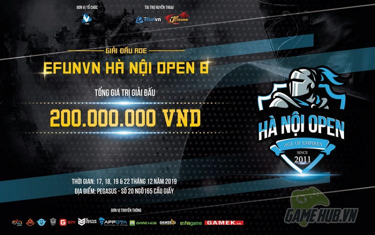 Bản tin AoE ngày 12/12: Hà Nội Open 8 công bố lịch thi đấu và bảng đấu