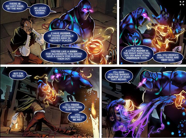 aa lore 1 - Con đường đến DotA: Kaldr, Bóng Ma Thượng Cổ