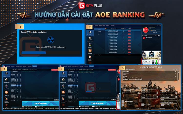 AoE Ranking: Chuẩn bị kết thúc giai đoạn Alpha Test và ra mắt phiên bản chính thức đầu tiên