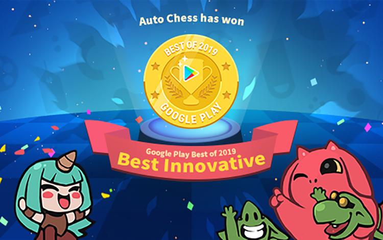 Auto Chess nhận giải thưởng Game có ý tưởng xuất sắc nhất của Google Play