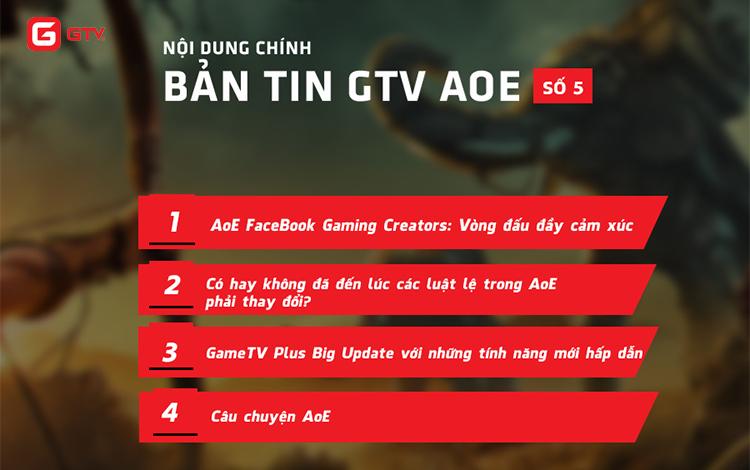 Bản Tin AoE GTV: Tranh cãi ở giải đấu AoE Facebook Gaming Creators Cup 2019
