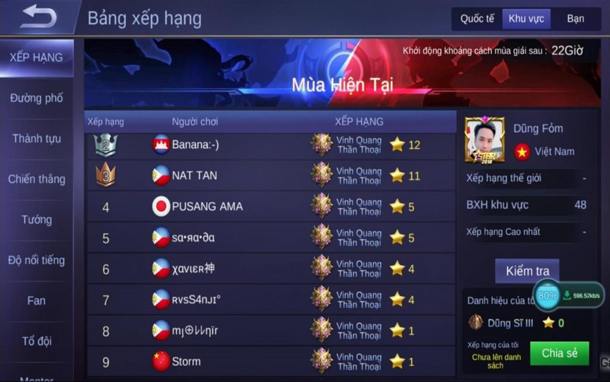 Có nên đưa bảng xếp hạng game thủ vào bộ môn AoE hay không?