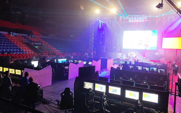 Toàn cảnh eSports Stadium hoành tráng tại SEA Games 30