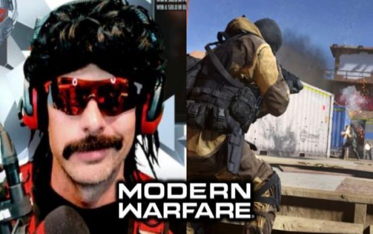 Dr. Disrespect đưa ra teaser về bản đồ chơi Modern Warfare mới