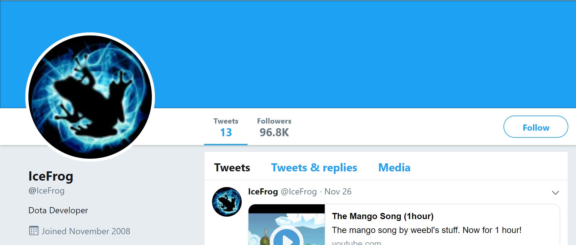 ice frog twitter - Nhìn lại 5 khoảnh khắc ấn tượng nhất của Dota 2 thế giới trong năm 2019