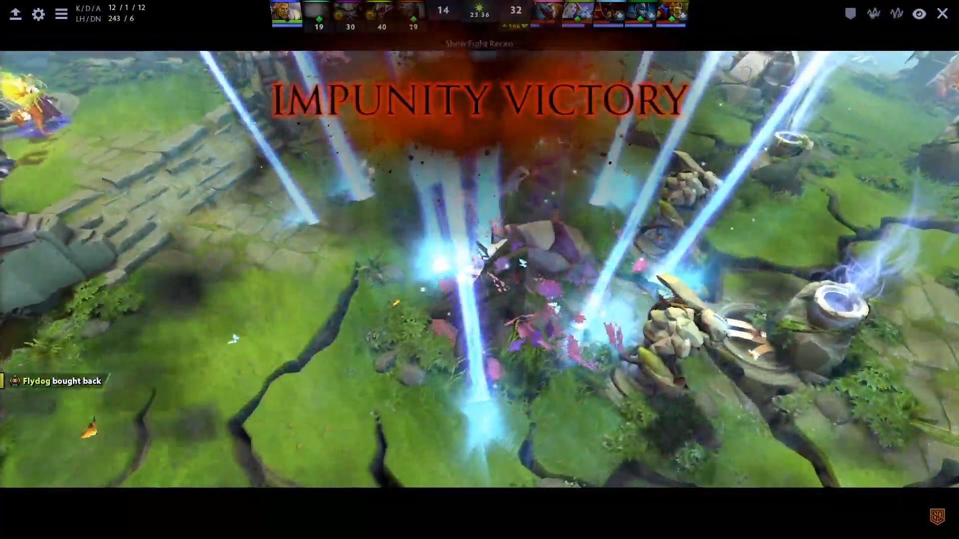 impunity won omc 1 - Vòng loại Predator League 2020 khu vực Việt Nam: Vị thế của những ông lớn