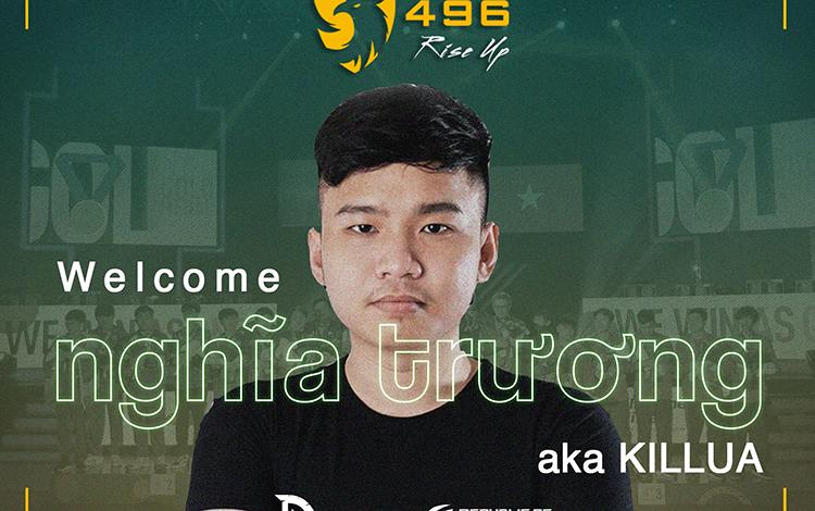 496 Gaming chào đón tài năng trẻ sinh năm 1997