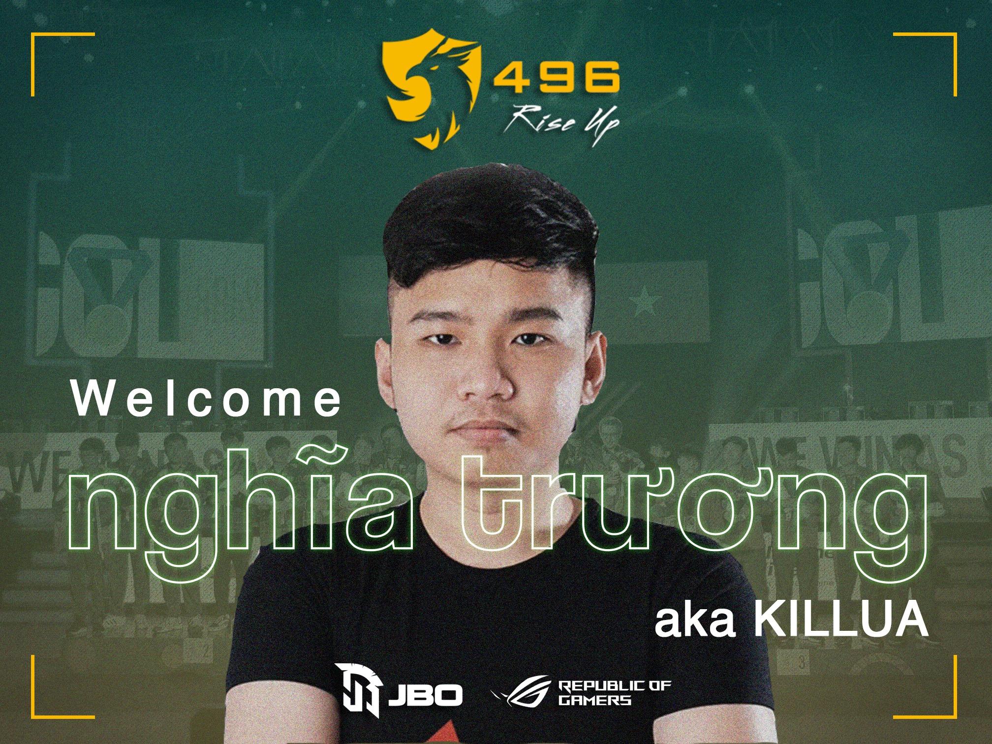 killua - Chia tay 496 Gaming, hTz nhanh chóng được top team Việt Nam săn đón