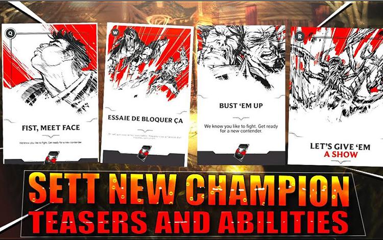 Riot Games chuẩn bị tung ra vị tướng chỉ sử dụng cho chế độ Đấu trường Chân Lý?