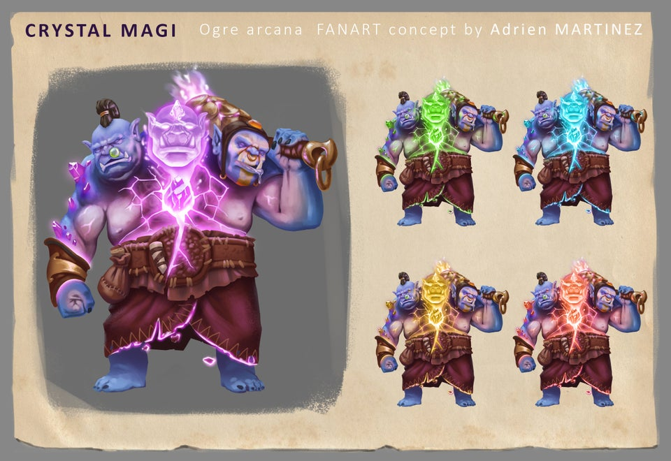 """ogre arc fanmade - Siêu phẩm tấu hài Arcana Ogre Magi chính thức """"ra lò"""""""