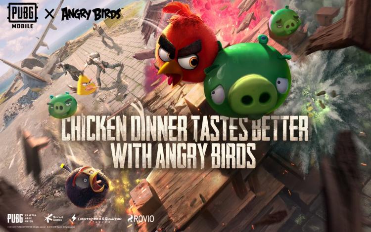 PUBG Mobile: tổ chức sự kiện crossover với Angry Bird, hàng loạt người chơi ức chế vì... chim kêu ồn quá