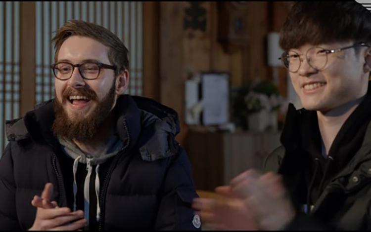 Faker và Bjergsen nói gì khi được gặp nhau ở Hàn Quốc?