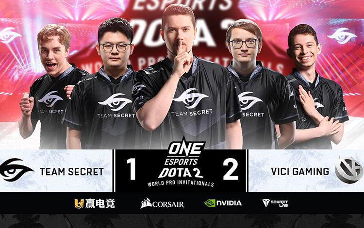 Gục ngã trước Vici Gaming, team Secret sớm rời cuộc chơi tại World Pro Invitational Singapore