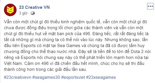 status community - 496 Gaming được người hâm mộ thưởng nóng 20 triệu đồng sau chiếc huy chương đồng lịch sử