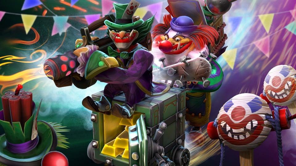 techies set - 3 Hero Dota 2 bạn nên lựa chọn để chơi trong ngày lễ Valentine